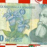 10.000 lei 1999-seria 002B...027 - Bancnota romaneasca