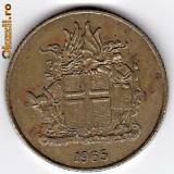 Islanda 1 Krona 1974