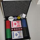Set poker cu valiza