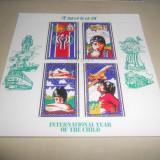 BLOC TIMBRE COPII 1979 - Timbre straine