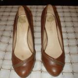 Pantofi dama BERSHKA ORIGINALI - Pantof dama, Coffee, Marime: 36.5