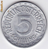 Austria 5 Schilling 1952 ,XF/a.UNC, RARA