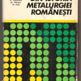 (C490) DIN ISTORIA METALURGIEI ROMANESTI COORDONARE PROF. DR. DOC. ING. IOSIF TRIPSA - Istorie