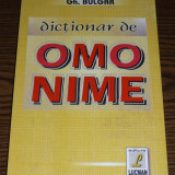 Gh. Bulgar - Dictionar de omonime