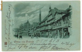 10025 - 5703 HAMELN, Litho, Germany, Germania - old postcard - used - 1899, Circulata, Printata