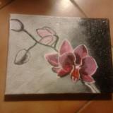 Tablou orhidee-unicat