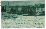 10026 - 5777 HANNOVER, Litho, Germany, Germania - old postcard - used - 1898, Circulata, Printata