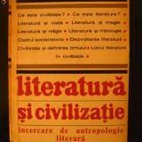 Literatura si civilizatie - Traian Herseni - Carte veche