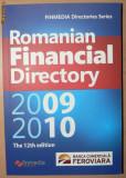 Anuarul Romanian Financial Directory 2009 - 2010 - In limba engleza