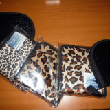 Toc CD din piele sau imitatie blana leopard