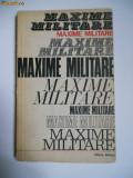 MARIN MIREA-MAXIME MILITARE,ED.MILITARA,BUCURESTI,1973