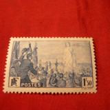 Serie- Congresul Internat Pace 1936 Franta, 1v.sarn.