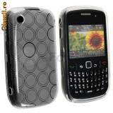 Husa silicon Blackberry 8520 Curve, Alt model telefon Blackberry, Gri