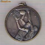 CIA 271 Medalie BASCHET -dimensiuni circa 42x46 milimetri
