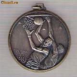 CIA 271 Medalie BASCHET -dimensiuni circa 42x46 milimetri - Medalii Romania