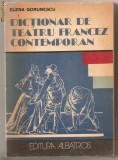 (C683) DICTIONAR DE TEATRU FRANCEZ CONTEMPORAN DE ELENA GORUNESCU
