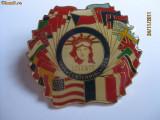 INSIGNA AMERICANA DE COLECTIE DIN 1986 CENTENAR STATUIA LIBERTATII