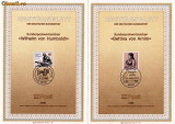 MAXIME GERMANIA ;PRIMA ZI; OAMENI DE SEAMA; BETTINA VON ARNIM SI WILHELM VON HUMBOLDT ,BERLIN1985-MAXG33