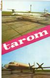 Ilustrata TAROM cu zbor Bucuresti - Zurich