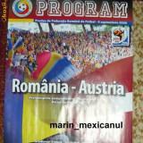 Program Romania - Austria