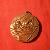 Medalie cu Toarta - INOT - Interbelica - Medalii Romania