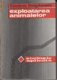 Exploatarea animalelor. Ecologie aplicata - Condrea Draganescu