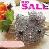 Stick Hello Kitty Pandantiv 8 GB  USB Flash Drive Pen Drive Memory stick  cu cristale swarovski, USB 2.0
