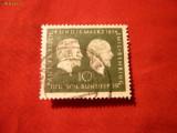 Serie 100 Ani E,von Behring si P.Ehrlich 1954 RFG 1val.stamp.