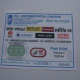 + Bilet tribuna II meci U Craiova - Sportul Studentesc +