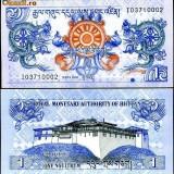 BHUTAN- 1 NGULTRUM 2006- UNC!!