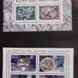 Timbre Straine nestampilate, 2 blocuri nestampilate Rusia URSS - Cosmos 1971 - Timbre Romania