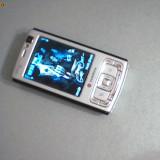 VAND URGENT UN NOKIA N 95 STARE FOARTE BUNA NOTA 9/10 - Telefon mobil Nokia N95, Argintiu, 8GB, Neblocat