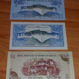 Lot 2 bancnote Bhutan 1 ngultrum UNC necirculate