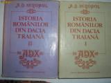 ISTORIA ROMANILOR A.D.XENOPOL{4 VOLUME},RF5/3, A.D. Xenopol