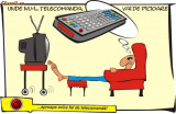 Telecomanda LG RC 185 DVD + TV + VCR
