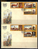 FDC ROMANIA 2007 SIBIU - CAPITALA EUROPEANA -  LP 1767