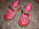 Pantofi Clarks marimea 6, Fete, Roz, Piele naturala