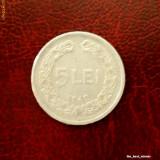 Romania - moneda 5 lei 1949