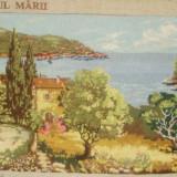 "Vand goblen ""Peisaj la malul marii"" - Tapiterie Goblen"