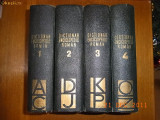 DICTIONAR ENCICLOPEDIC ROMAN (Vol. 1-4)