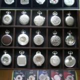 Superba colectie de 15 ceasuri elvetiene, de buzunar, modele deosebite. - Ceas de buzunar