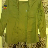 Camasa de armata romaneasca - Camasa barbati, Marime: 48, Maneca lunga, Crem