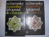 A.E Baconsky Remember 2 volume,g1