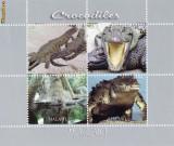 BLOC TIMBRE ANIMALE 2011 REPTILE