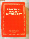 """PRACTICAL ENGLISH DICTIONARY. Ideal for home and school use"""