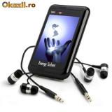 """MP4/MP3/Wma/FM Player ,EnergySistem Ingennio 5000 hdp M-EX 2gb ,Ecran 3.5"""",Front Speaker,SD Slot"""