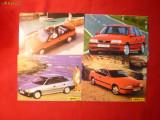 Set 4 Ilustrate Reclama Automobil OPEL