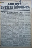 Gazeta antirevizionista , an 2 , nr 16 , Arad , 1935