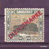 1922 Saargebiet Mi. 10 conditie * *
