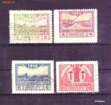 1918 Polonia Mi. 3-6 stampilate